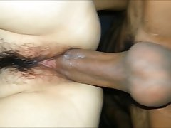 Asian creampie close up