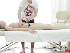Babe, Blowjob, Cumshot, Indian, Massage