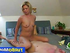 Sporty blonde milf radka 2nd sex scene
