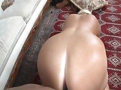 Ass big blonde mature