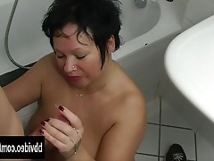 milf blowjob mature German