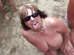Nude porn mature beach