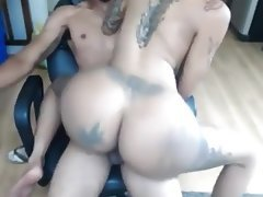 Amateur, Big Butts, Creampie, Big Ass