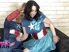 Big Butts, Blowjob, British, Cosplay, Squirt