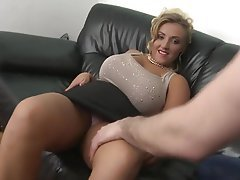 Gilf creampie huge tits