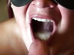 Blowjob, POV, Nerd, Cum in mouth