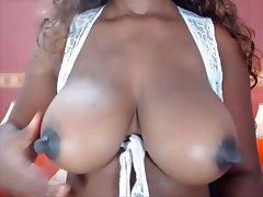 Big Boobs, Big Nipples, Black