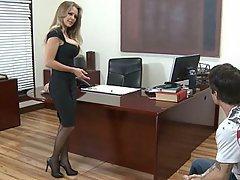 Teacher, Blonde, Big Tits, MILF