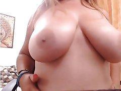 Big Boobs, Brunette, Italian, Webcam