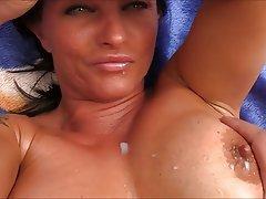 Large soft mature tits