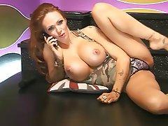 Big Boobs, British, MILF, Redhead, Webcam