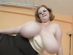 Milfs naked on stage