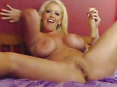 Big Boobs, Blonde, Masturbation, Pornstar, Squirt