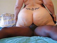 Ssbbw girl big ass anal