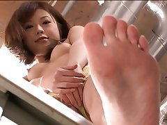 japanese girl feet Asian