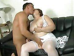 Fat ass granny tube