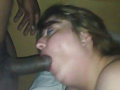 Bbw blowjob interracial ypp