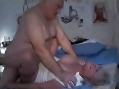 Bbw mature couple fucks