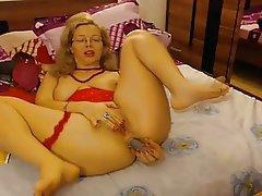 Webcam mature analtoying