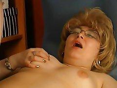 Russian mature secret masturbation #2