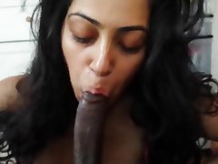 Sexy indian girl blowjob