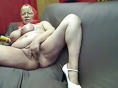 Busty blonde mp4