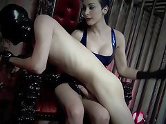 video humiliaton Spanking handjob