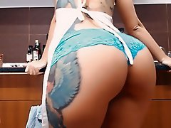 Big Boobs, Big Butts, Masturbation, Tattoo, Teen