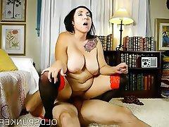 Curvy kat women boobs redhead mature big