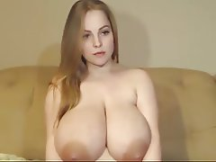 Blonde, Big Boobs, Webcam