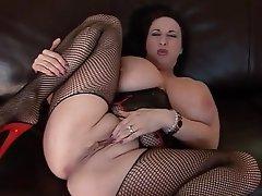 Huge boobs masturbation mature